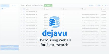 Dejavu V3 - Web UI for Elasticsearch | Product Hunt