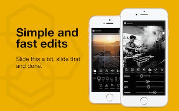 Lumibee - Powerful but dead simple photo editor for iPhone