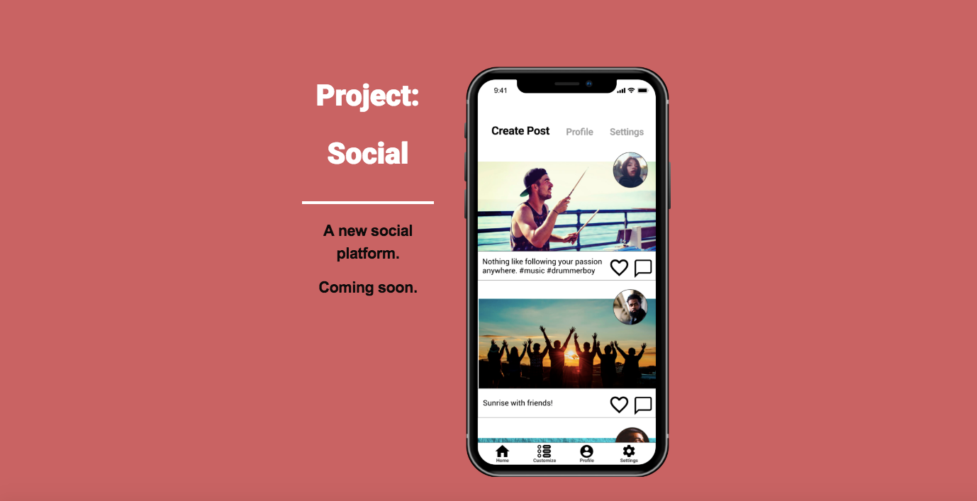 Project: Social