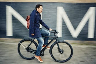 VanMoof Electrified S - An electric bike that looks and