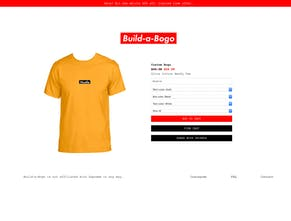 cfeaeb707fc1 Build-a-Bogo - Create your own box logo tee shirt | Product Hunt