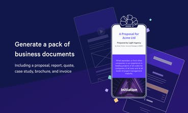 Document Generator by Qwilr - Beautiful business documents
