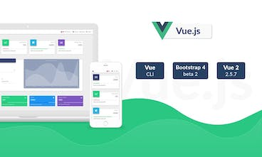 Vue Bootstrap Material Design Kit - Free UI Kit built with