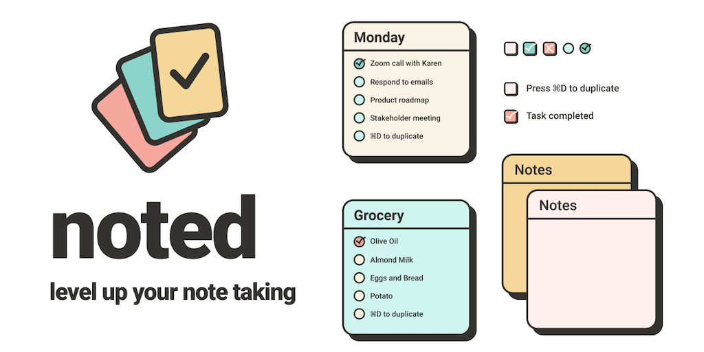 Noted - Level up your note taking on Figma 📝 | Product Hunt