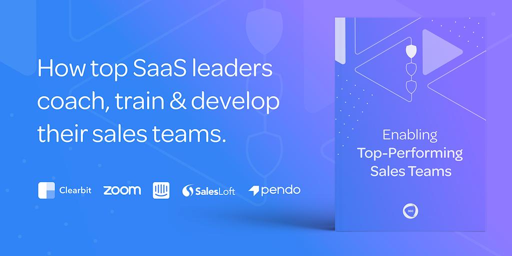 Enabling Top Performing Sales Teams 📖 - How SaaS leaders onboard, train & develop their sales teams | Product Hunt