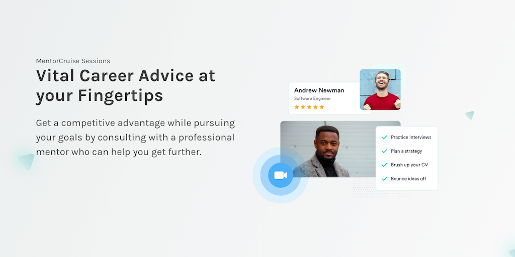 MentorCruise Sessions - Getting a mentor just got easier | Product Hunt