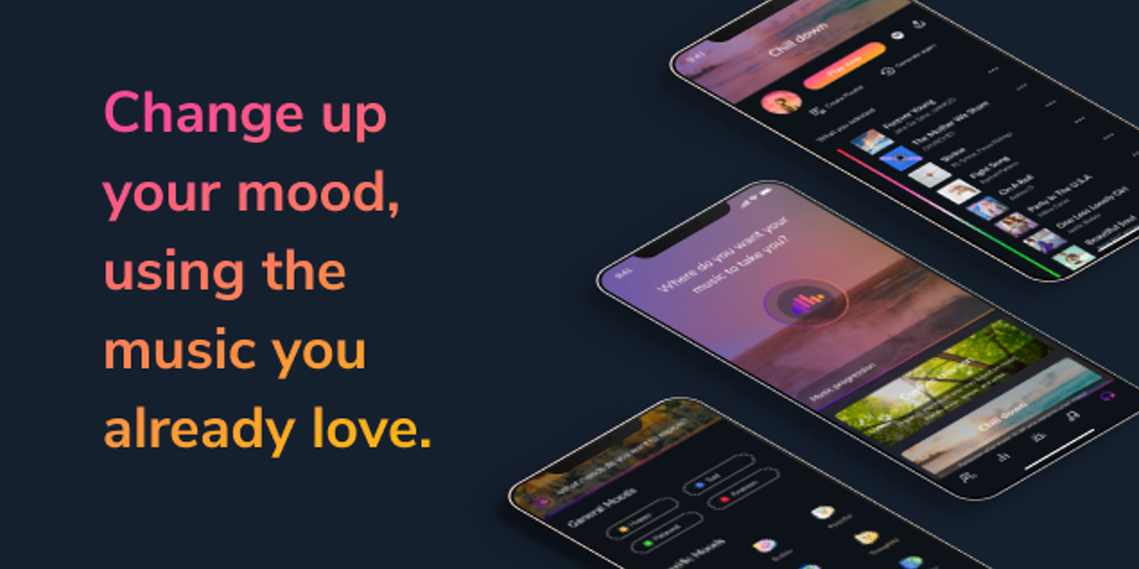 Ensu Music Progressions - Change your mood with AI generated playlists | Product Hunt