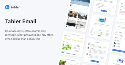 Tabler Email UI Kit - Responsive newsletters and email