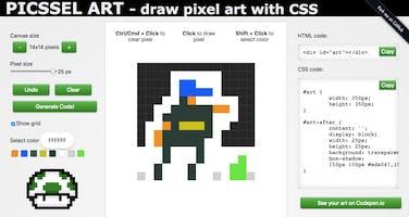 64x64 Pixel Art Maker
