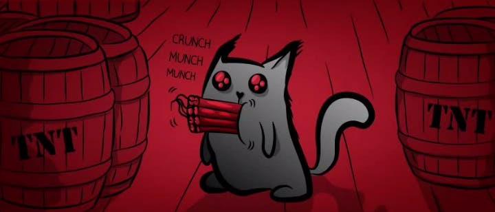 Image result for imploding kittens art