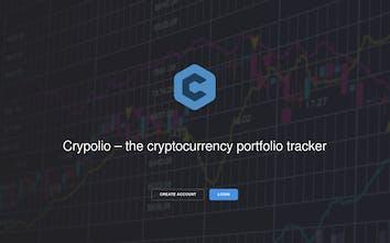 Crypolio - Cryptocurrency portfolio tracker   Product Hunt