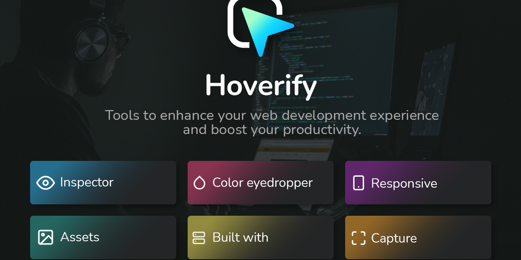 Hoverify 2.0 - All-in-one browser extension for web development | Product Hunt