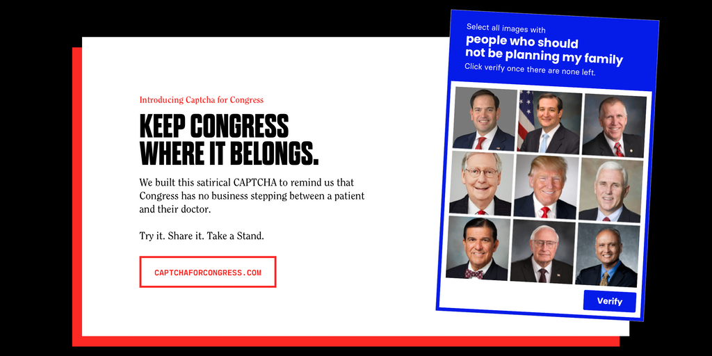CAPTCHA for Congress - Keep bots offline Keep Congress in line | Product Hunt