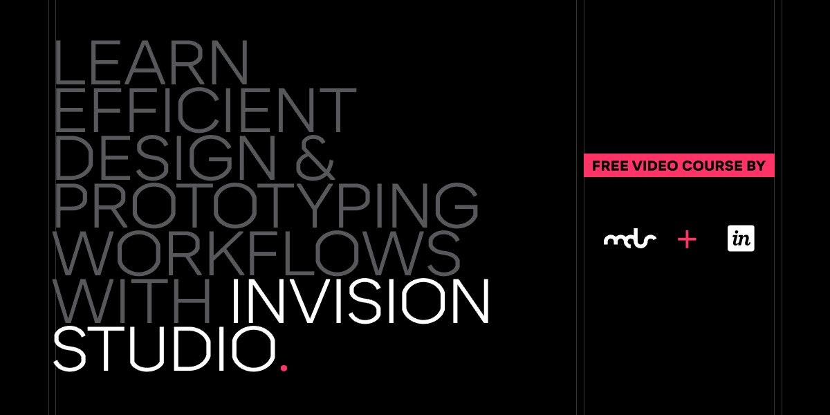 Switch to Studio - Learn design & prototyping workflows with InVision Studio