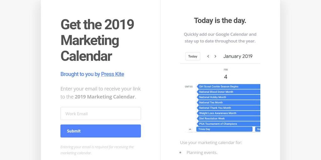 google calendar 2019