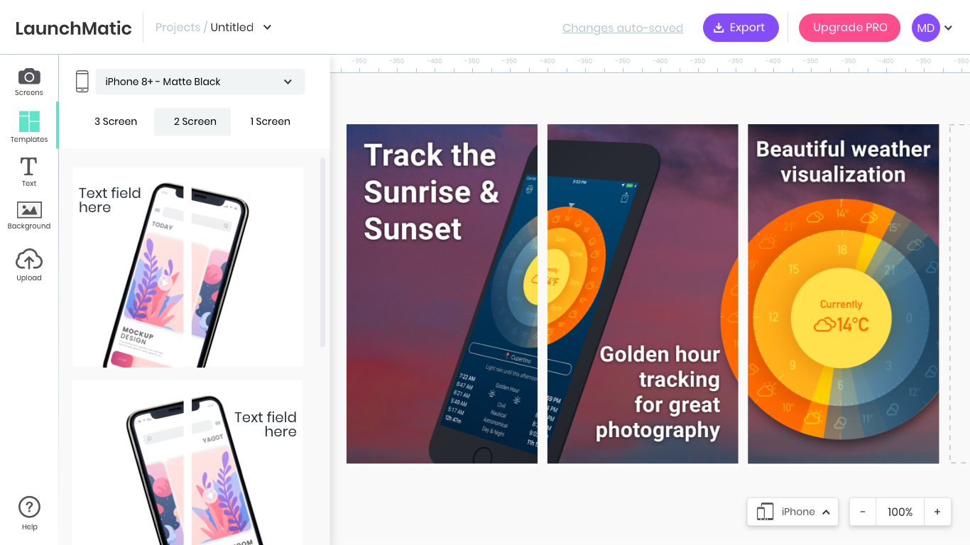 Launchmatic - App Screenshot Mockup Generator | Product Hunt