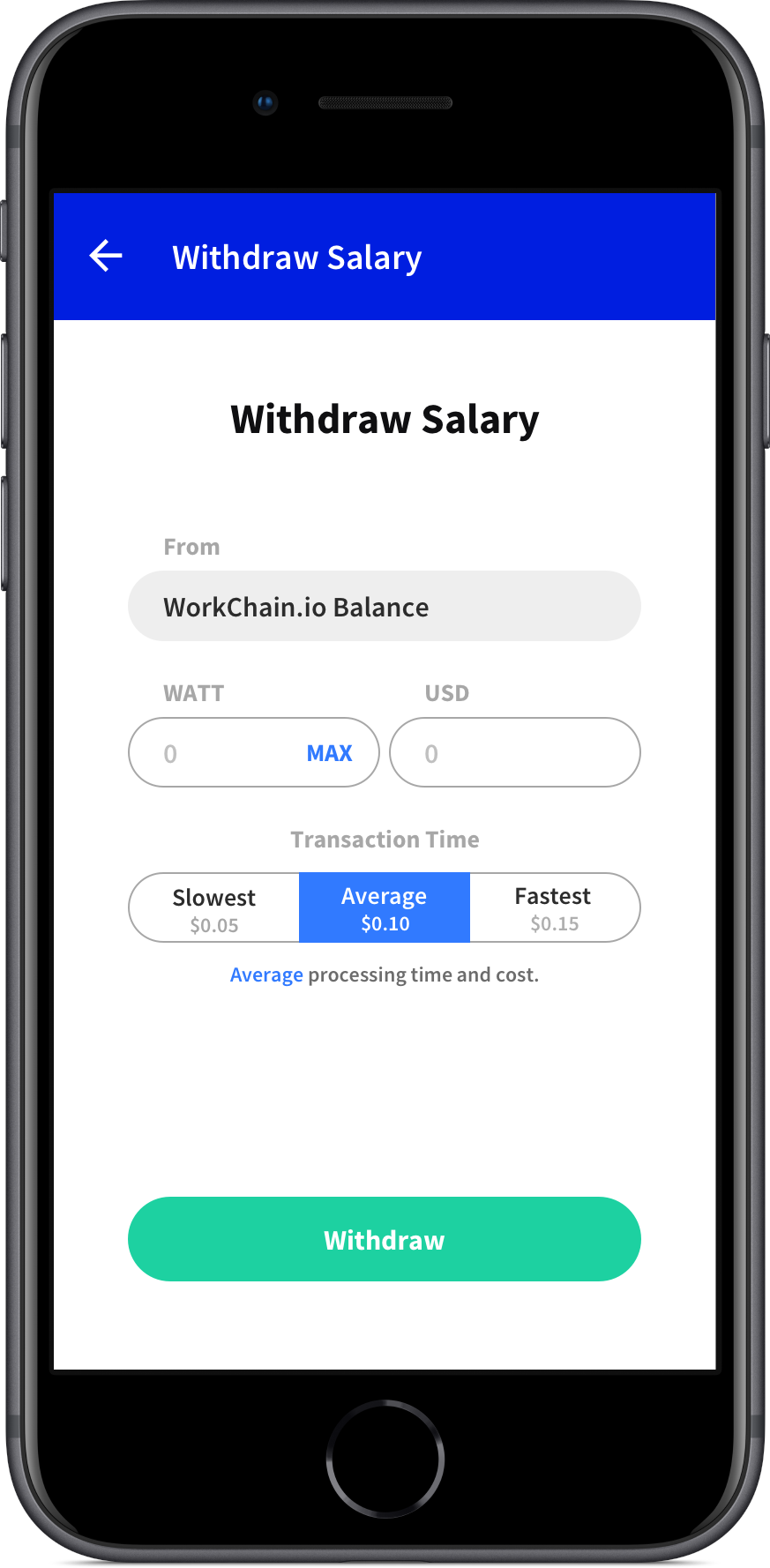 Automated, instant payroll on the blockchain