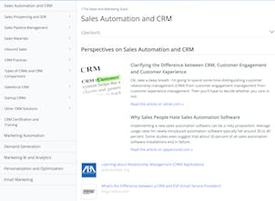 Sales & Marketing Stack Wiki - Curated articles about modern sales
