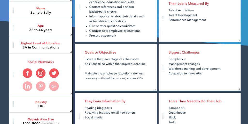 Make My Persona - A free buyer persona generator | Product Hunt