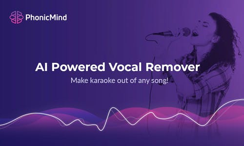 PhonicMind - Online service that can extract / remove vocals from