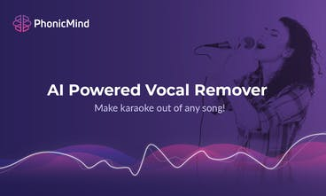 PhonicMind - Make karaoke out of any song with AI powered vocal