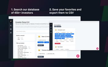 Investor Scout - A database of 45k+ investors to raise your seed