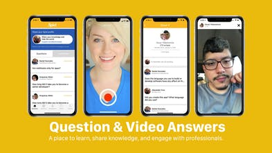 Spiel - Q&Video Answer app for today's fast-paced professionals