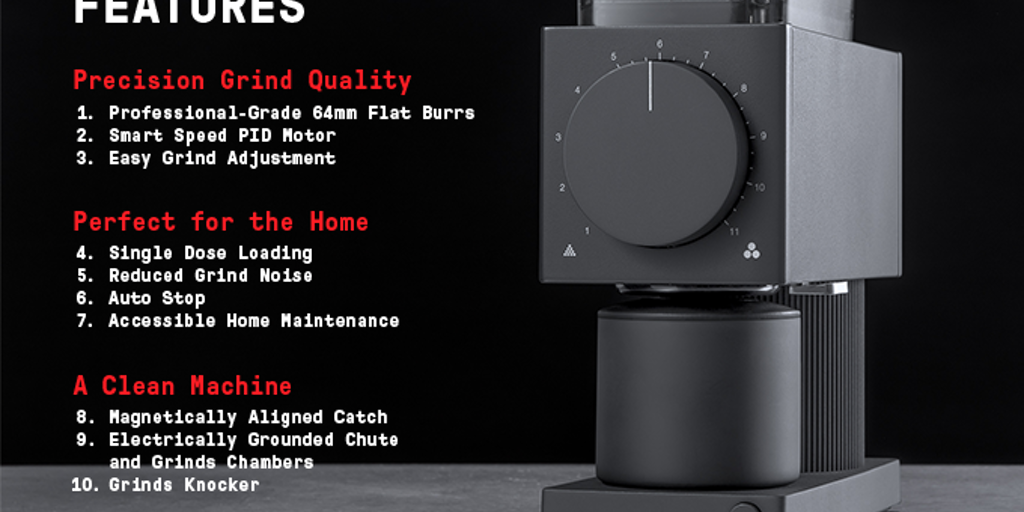 Ode Brew Grinder - Powerful+precise next-gen home grinder with café performance | Product Hunt