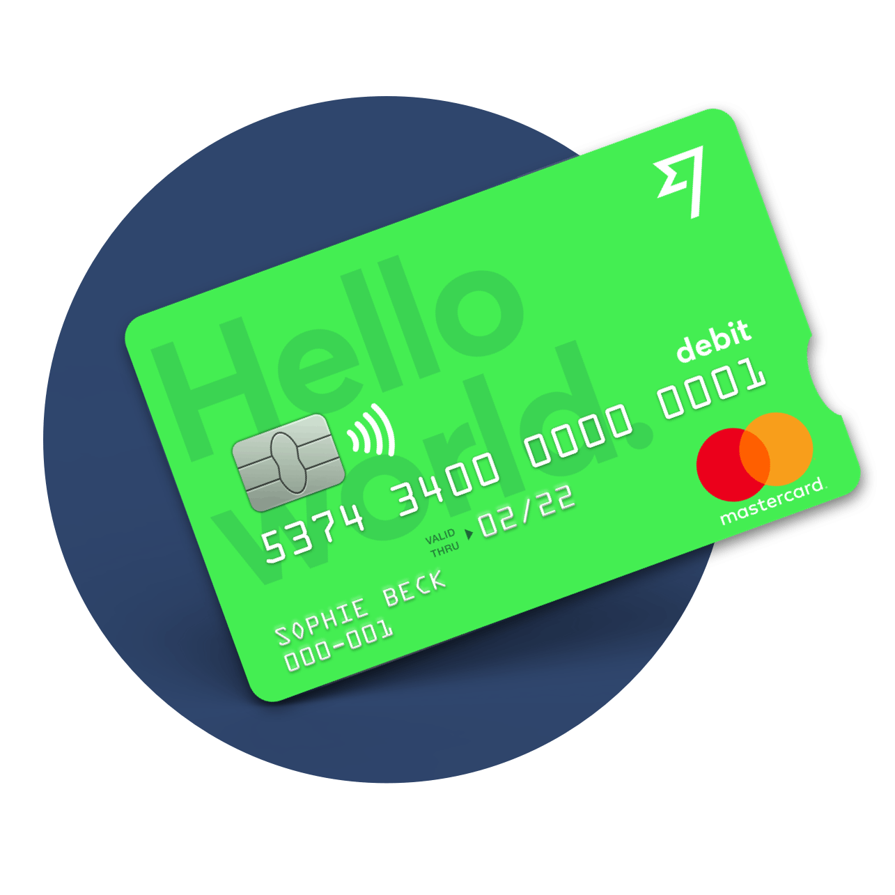 transferwise debit card a bright green card to save you money when