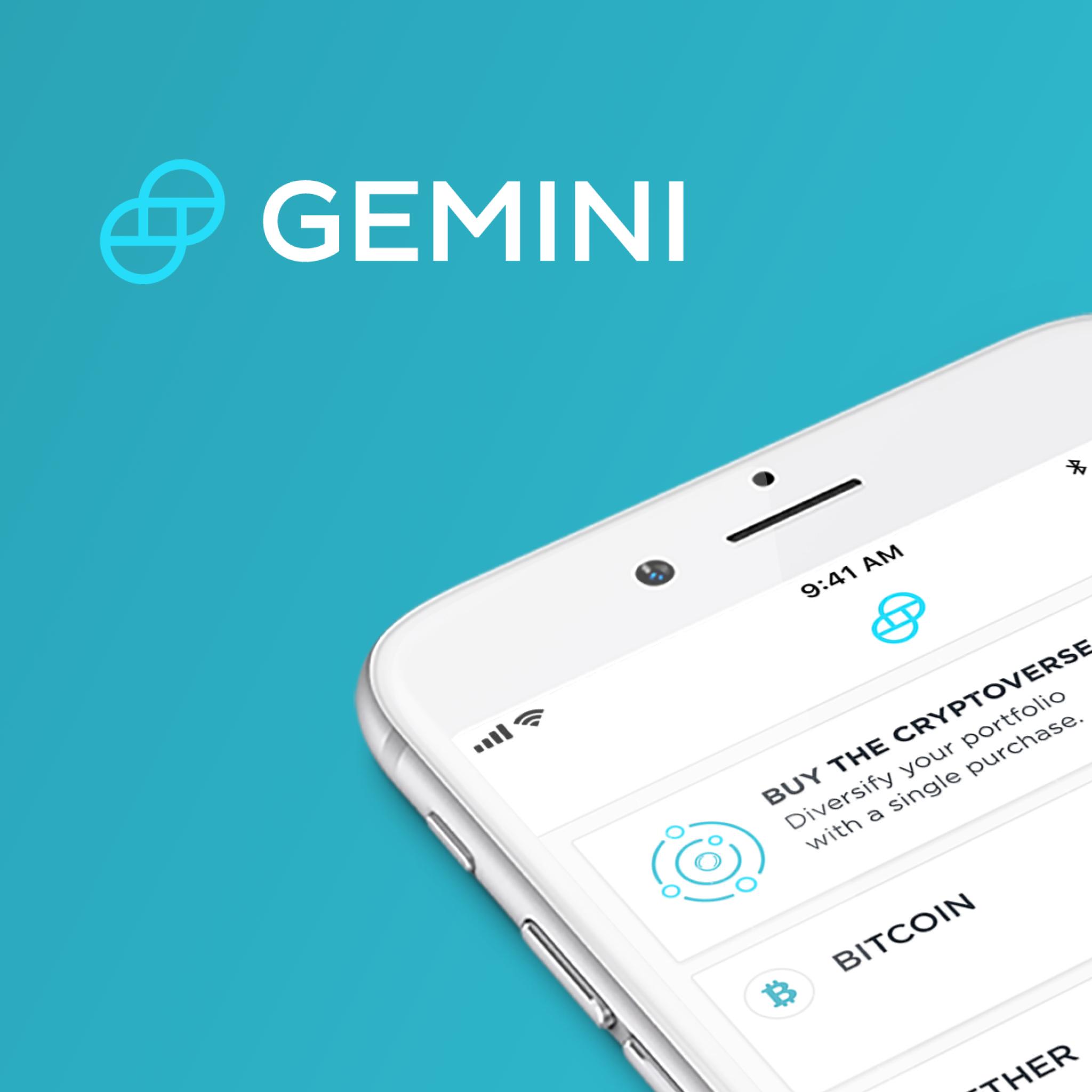 Gemini Mobile - Launch your crypto portfolio on Gemini