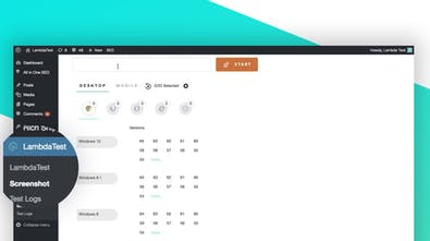 LambdaTest WordPress Plugin - Cross browser testing directly