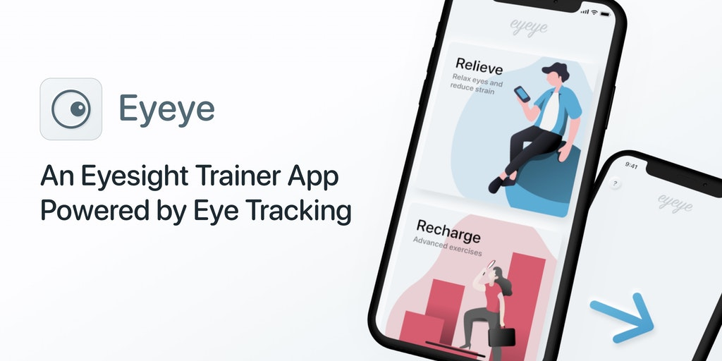 Eyeye - An eyesight trainer app powered by eye tracking | Product Hunt