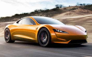 New Tesla Roadster In Colors