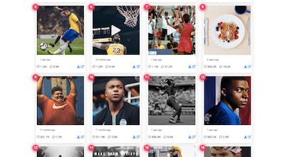 Top100posts - It ranks the top 100 posts of any Instagram