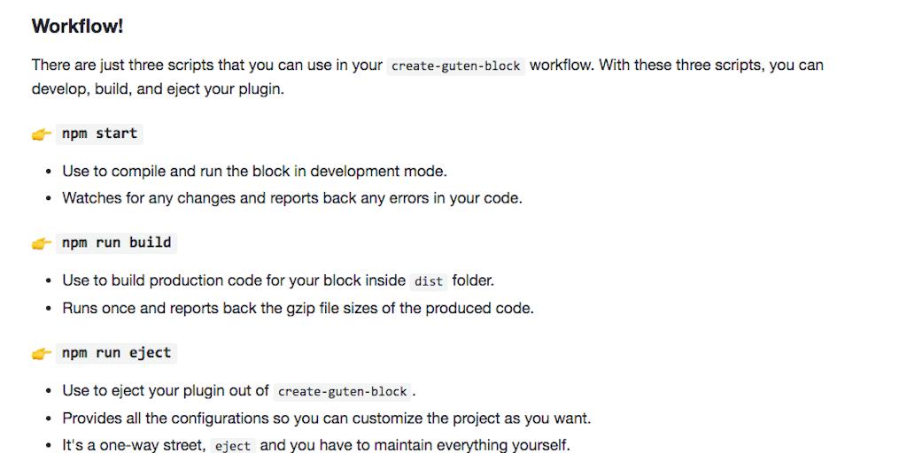 Create Guten Block - Create React gutenblocks with zero-config