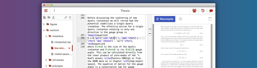 Sharelatex - The easy to use, online, collaborative LaTeX