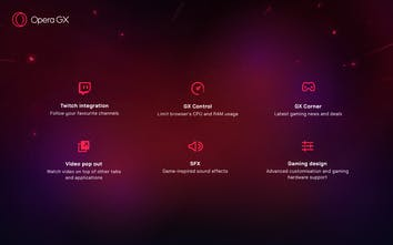 Opera GX Gaming Browser - The world's first gaming browser   Product