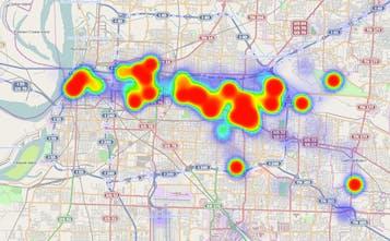 Location History Visualizer - Visualize Google location history data on