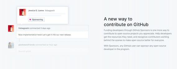 GitHub Sponsors - Get paid to build what you love on GitHub