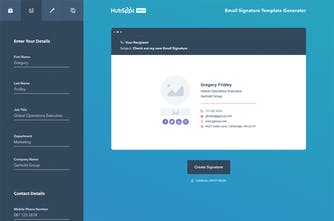 Email Signature Template Generator - Create your free email