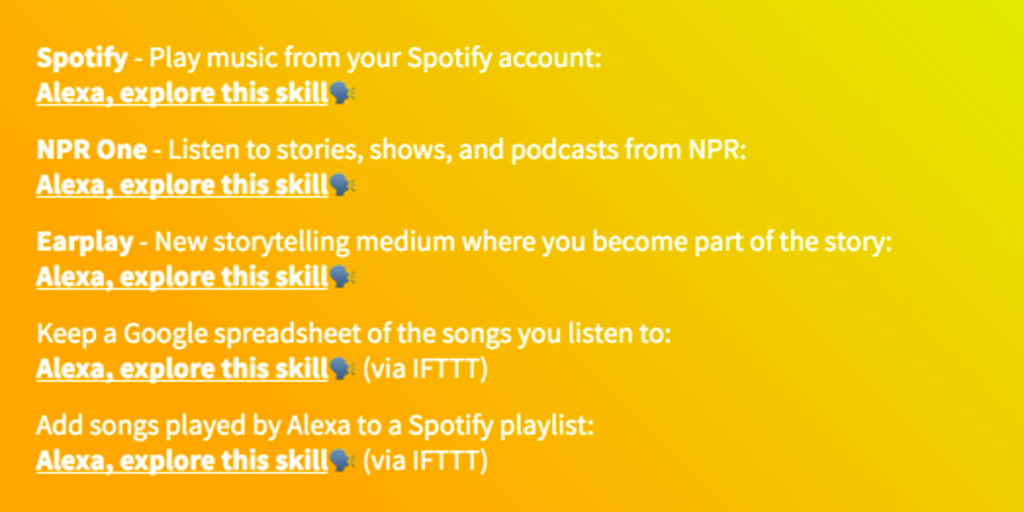 Skills wtf - A site to find all the best Alexa Skills