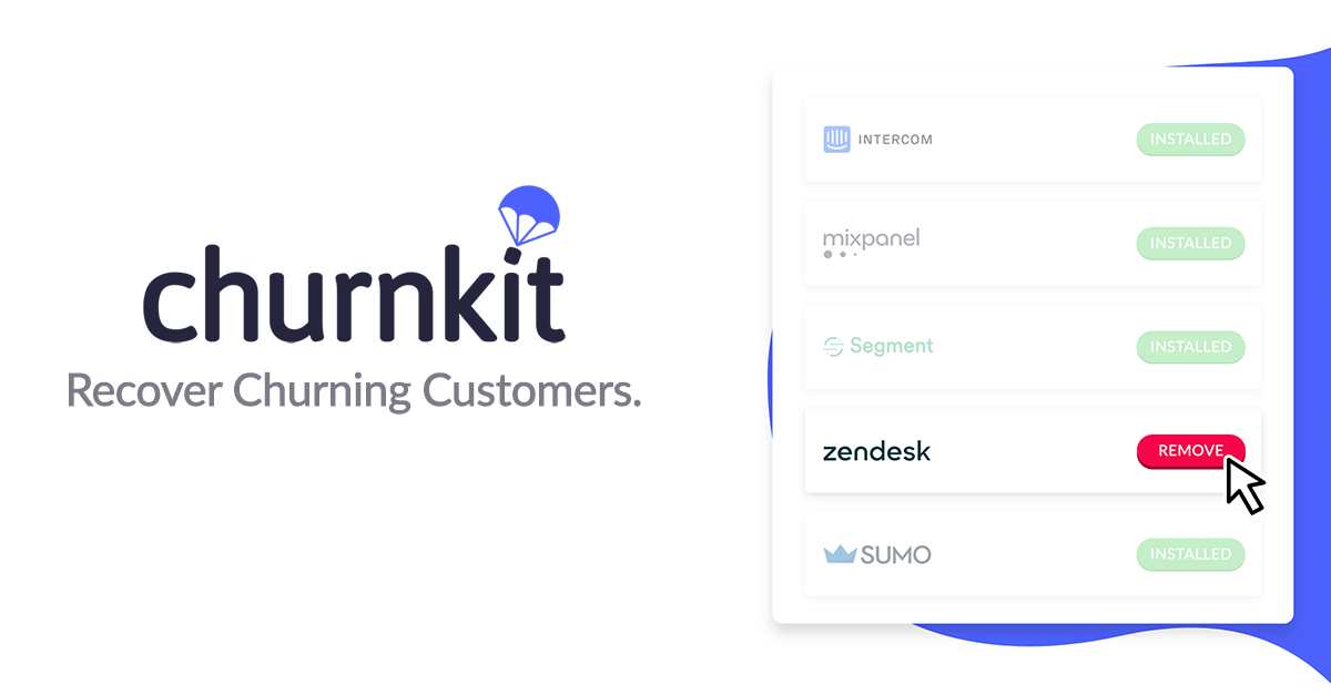 ChurnKit - Find out who removed your service from their website
