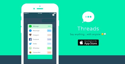 Threads - Troll your friends with fake, funny iMessage