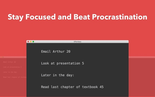 Effortless 2.0 - The fastest way to stay focused and beat procrastination