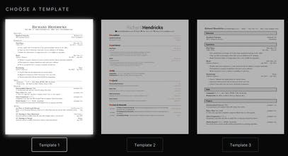 Latex Resume Generator An Easy To Use Generator For Creating