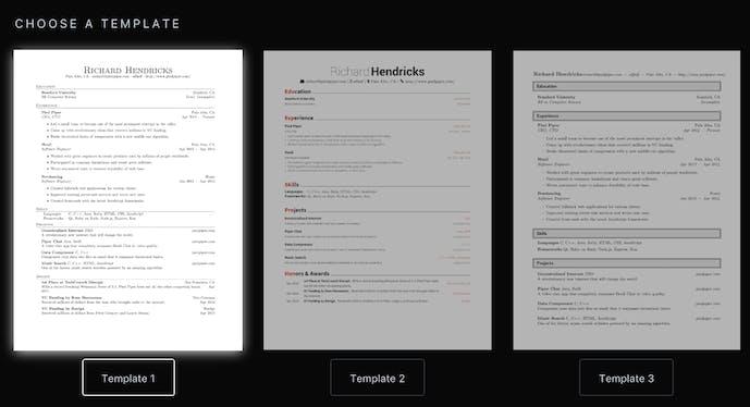 latex resume generator product hunt