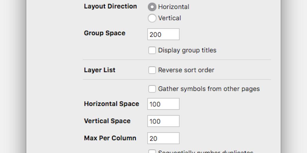 Symbol Organizer - Organize your symbols and layers