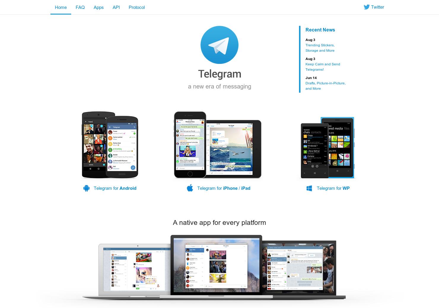 Telegram Messenger - Whatsapp-esque messaging app but open