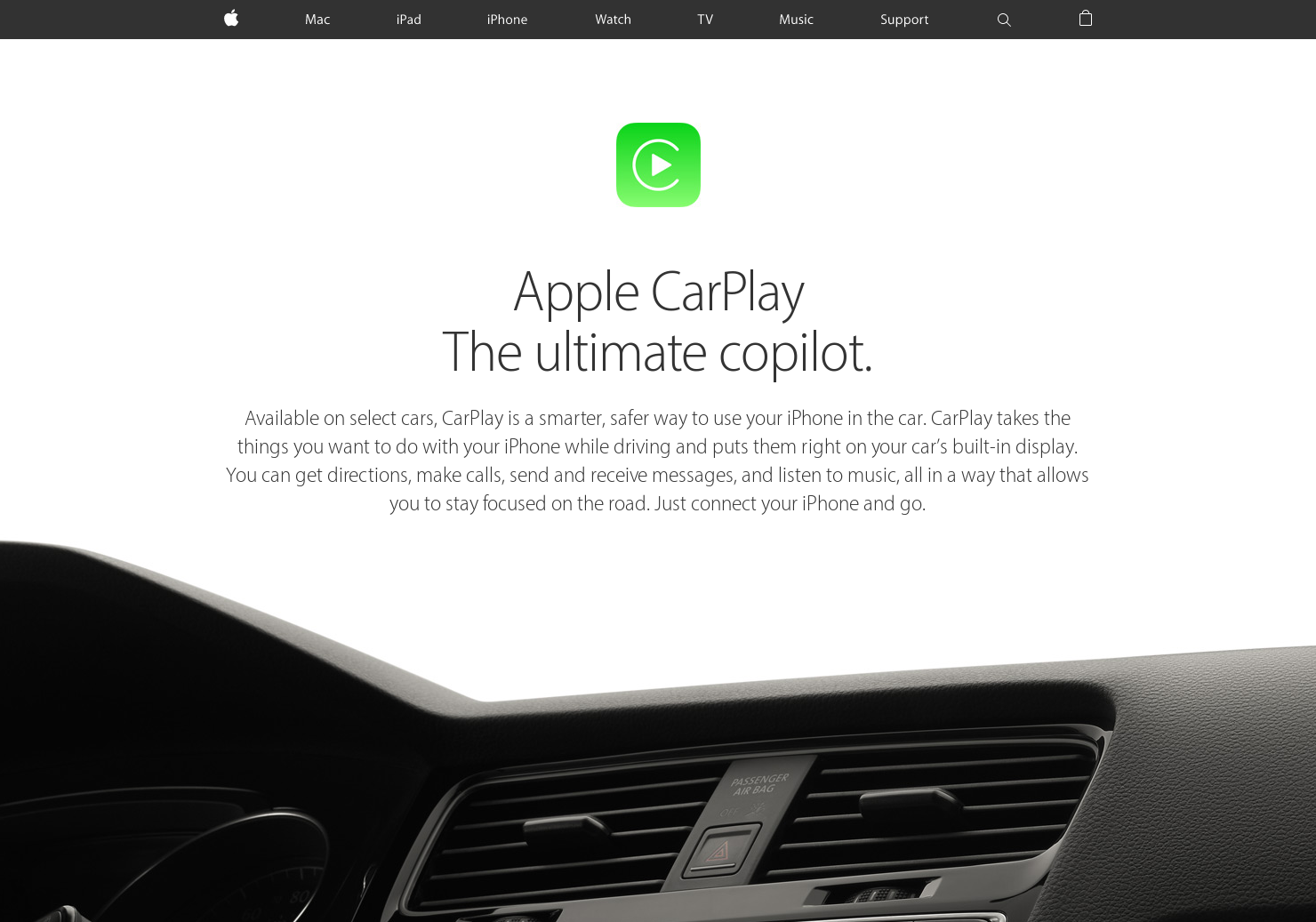 Apple CarPlay - Use your iphone safely in the car   Product Hunt