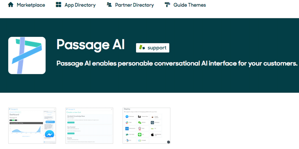 Passage AI Customer Service Bot - Automate Customer Service with Passage AI and Zendesk | Product Hunt